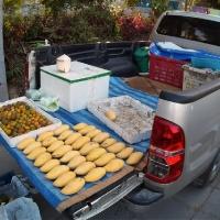 По пути купил манго по 50 бат за кг