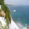 Фото водопада Анталии
