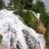Мощный водопад