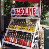 Бензин в бутылках