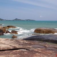 Каменный берег в Тае