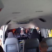 В автобусе на визаран