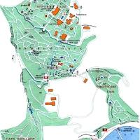 Карта Никитского ботанического сада