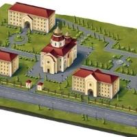 План Храмового комплекса Почаевской Божией Матери в Любимовке