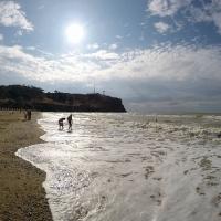 Пляж санатория Черноморец