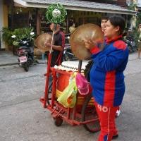 Тайские барабанщики