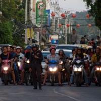 Полиция закрыла движение по кольцевой