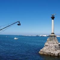 Камера останкино и памятник затопленным кораблям