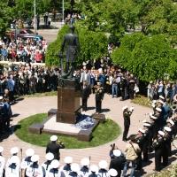 Открытие памятника Сенявину