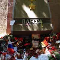 Траур в Одессе