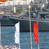 Корабли в Севастопольской бухте
