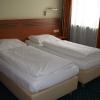 Кровати в номере немецкого отеля