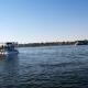 Река Нил и катер