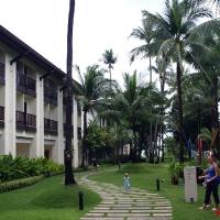 Территория отеля Ibis