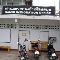 Immigration office Thailand Samui