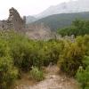 Старая крепость в горах