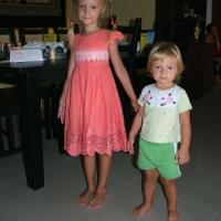 Малыши на детском празднике в Казан-Баран