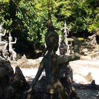 Буддистские фигуры на Самуи