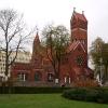 Костел в центре Минска