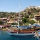 Яхты у Турецких берегов