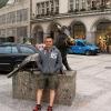 Центр Мюнхена и памятник кабану