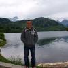 Озеро в Альпах