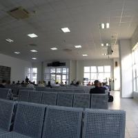 Зал ожидания в аэропорту Симферополя
