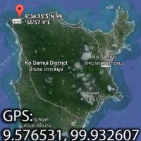 Координаты пляжа Банг По