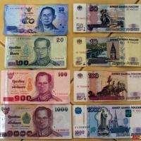 Стоимость в рублях, но в Таиланде