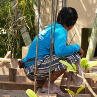 Бирманцы строители