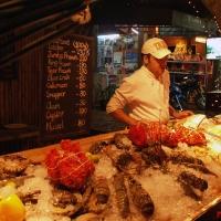 Свежие морепродукты в Fisherman Village
