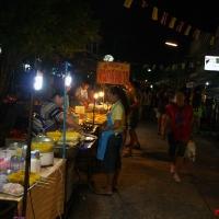 Рынок-ярмарка вечером