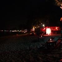 Огоньки на пляже