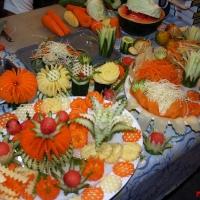 Вырезка из овощей